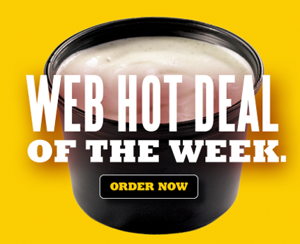 Web Hot Deal of the Week.