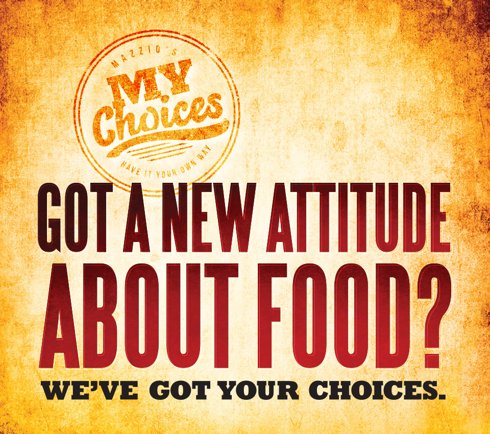 Got a new attitude about food? We've got your choices.
