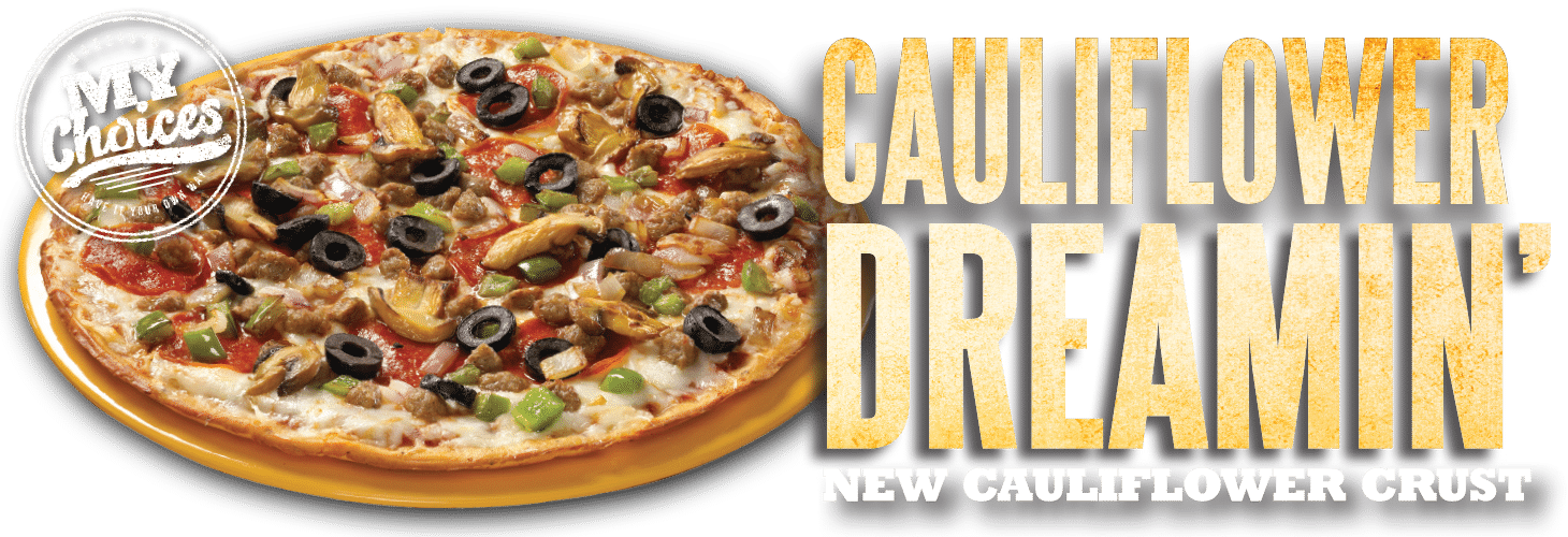 Cauliflower Dreamin' - New Cauliflower Crust